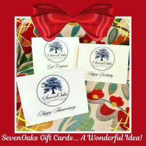 SevenOaks Gift Certificate