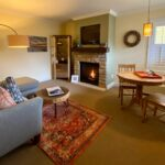 Henley Living /Dining Area with fireplace